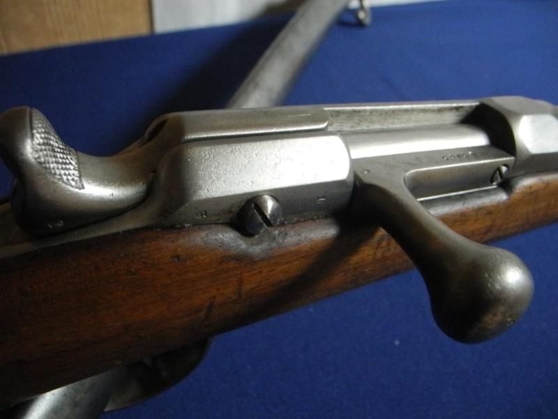 Fusil chassepot du contrat CAHEN-LYON fabriqué à Vienne (Autriche) Dscn8571