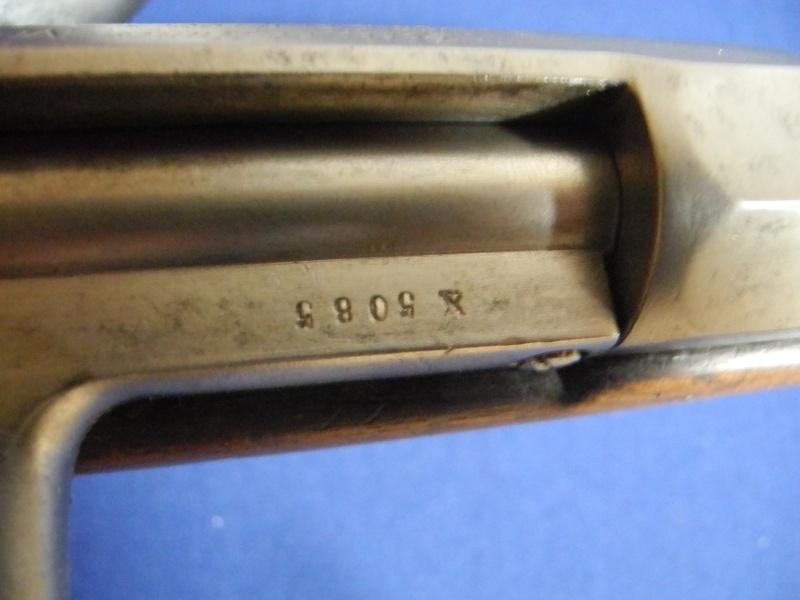 Fusil chassepot du contrat CAHEN-LYON fabriqué à Vienne (Autriche) Dscn8572