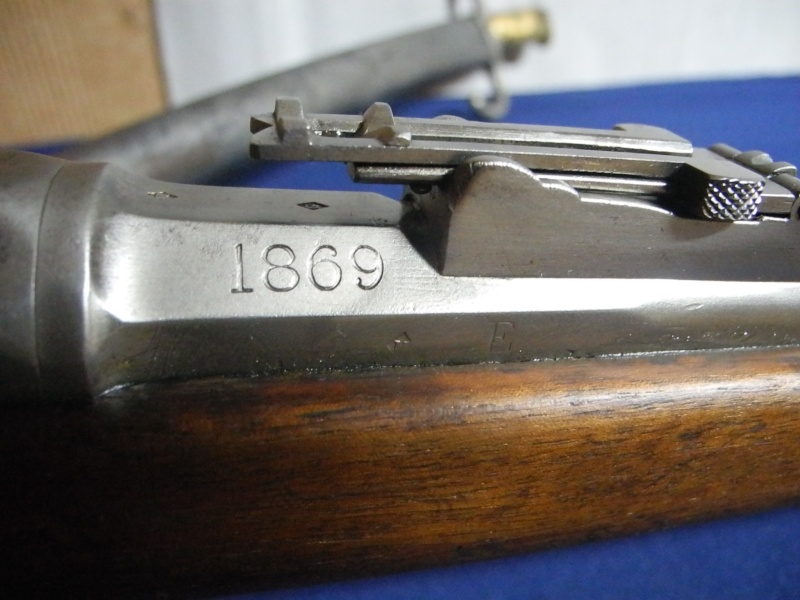Fusil chassepot du contrat CAHEN-LYON fabriqué à Vienne (Autriche) Dscn8573