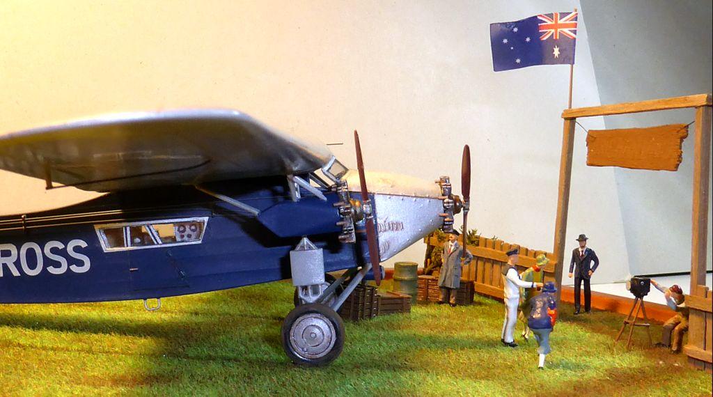 "[Zvesda] - Fokker F-VII ""SOUTHERN CROSS"" 1928 Vol Trans-Pacifique vers l'Australie Fvii-110"