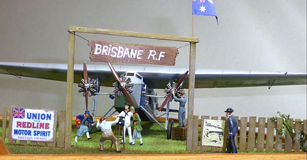 "[Zvesda] - Fokker F-VII ""SOUTHERN CROSS"" 1928 Vol Trans-Pacifique vers l'Australie Fvii-111"