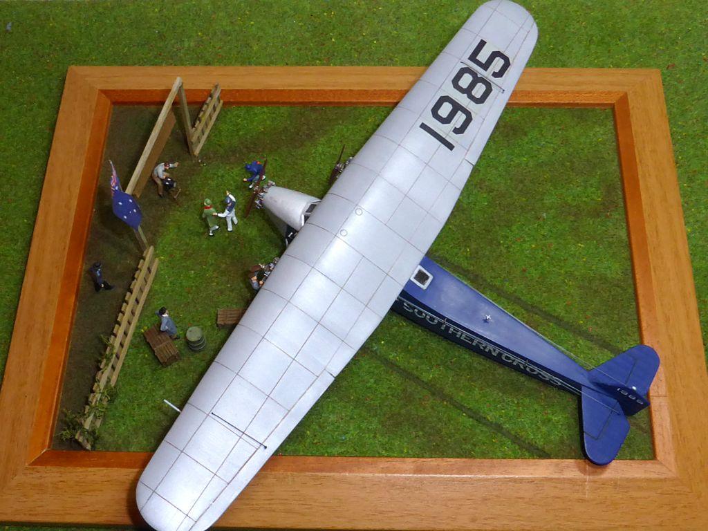 "[Zvesda] - Fokker F-VII ""SOUTHERN CROSS"" 1928 Vol Trans-Pacifique vers l'Australie Fvii-112"