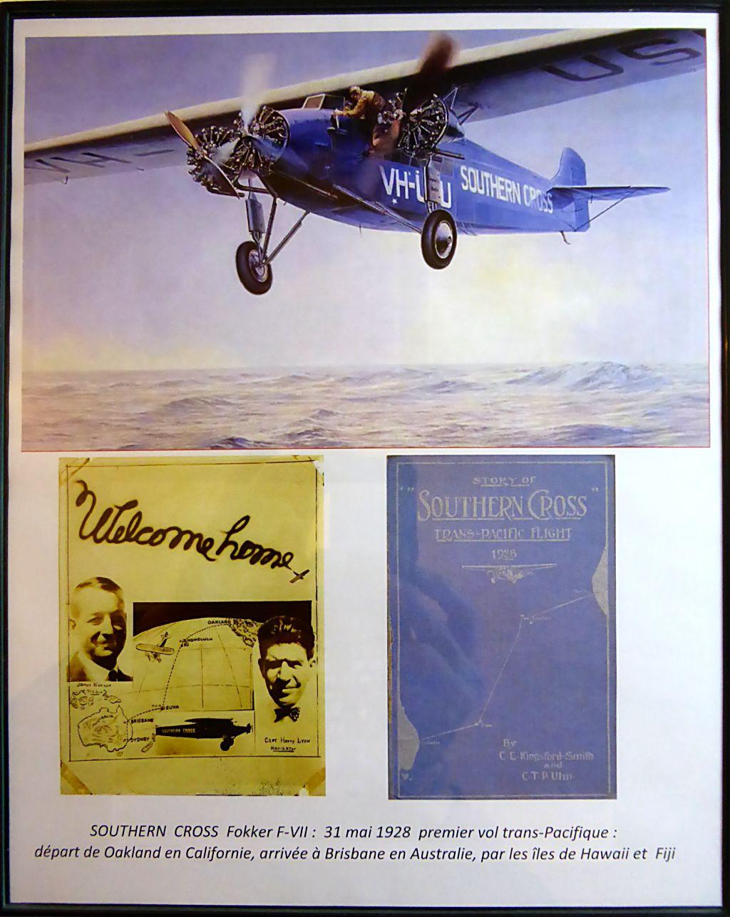 "[Zvesda] - Fokker F-VII ""SOUTHERN CROSS"" 1928 Vol Trans-Pacifique vers l'Australie Fvii-610"