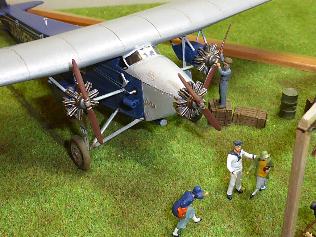 "[Zvesda] - Fokker F-VII ""SOUTHERN CROSS"" 1928 Vol Trans-Pacifique vers l'Australie Fvii-915"