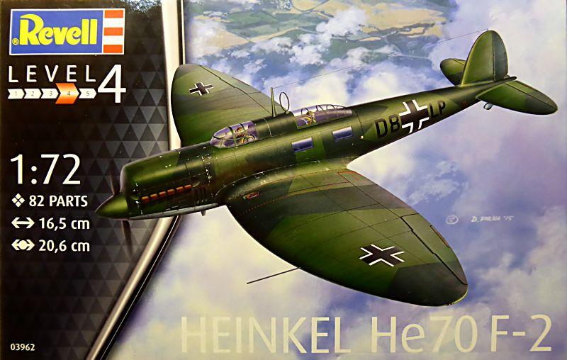 [Revell] - Heinkel He 70F-2 décor Lufthansa 1935 He70-010