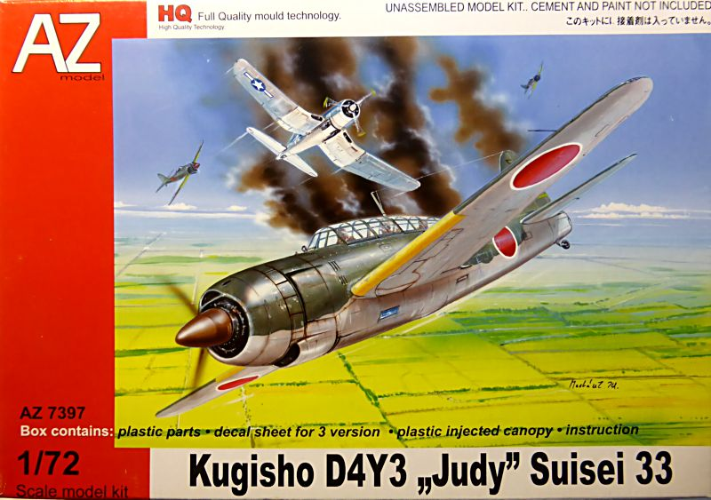 """Yokosuka D4Y1/2 Suisei  """"Judy """" Fine Model 1/48 Judy-010"""