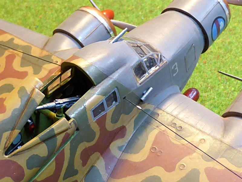 [Airfix] Savoia-Marchetti SM-79 vintage de 1967 - 1/72 Sm79-122