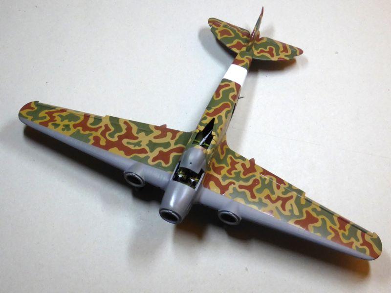 [Airfix] Savoia-Marchetti SM-79 vintage de 1967 - 1/72 Sm79-710
