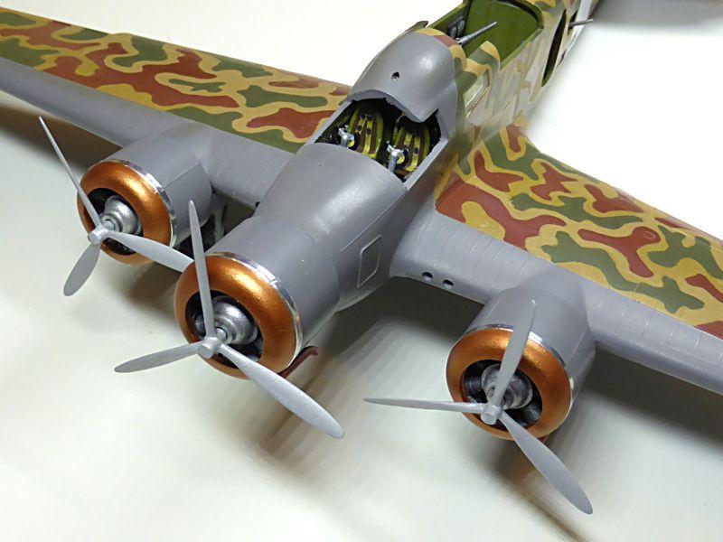 [Airfix] Savoia-Marchetti SM-79 vintage de 1967 - 1/72 Sm79-714