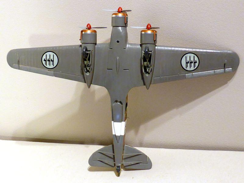 [Airfix] Savoia-Marchetti SM-79 vintage de 1967 - 1/72 Sm79-818