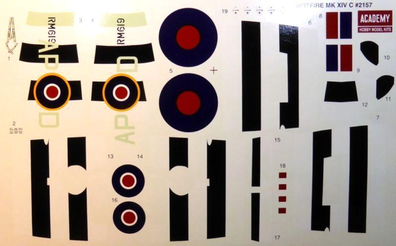 [ACADEMY] Spitfire Mk XIVc 1/48 Smk14c18