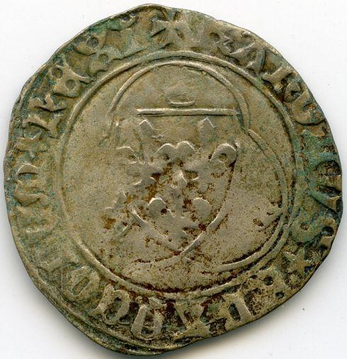 Blanc de Charles VII ou Charles VIII ? Av114