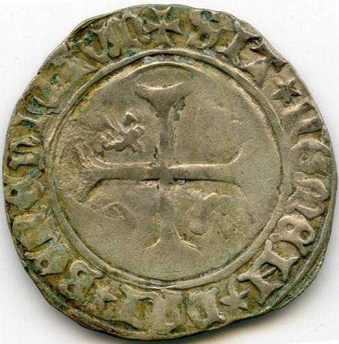 Blanc de Charles VII ou Charles VIII ? Rv114