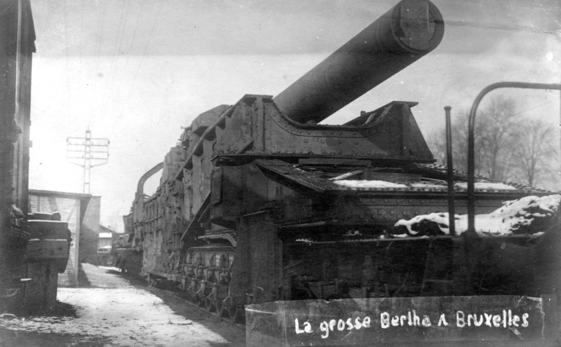 LA GROSSE BERTHA...CANON A LONGUE  PORTEE OU  PAS? Occupa10