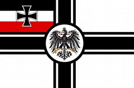 The Prussian Empire Official Alliance Flag Kriegs11
