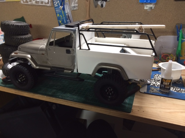 Axial SCX10 -  jeep wrangler pick up  Img_1712