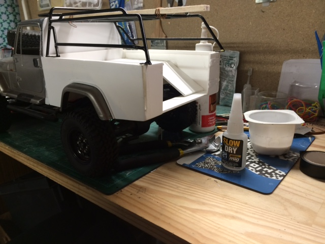 Axial SCX10 -  jeep wrangler pick up  Img_1713