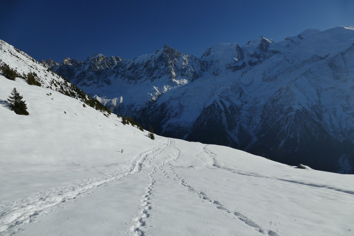 Photos de neige, dans le massif du Mont Blanc - Page 2 P111