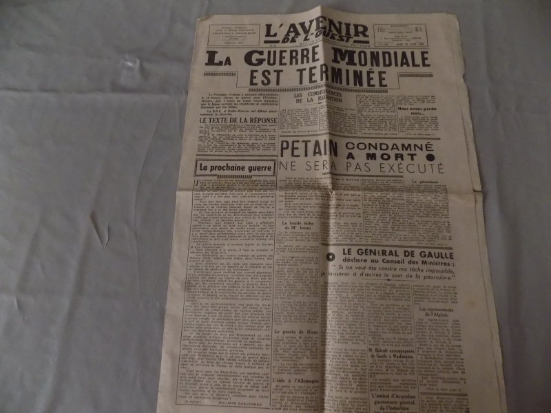 Postez vos authentiques journaux à date historique ! Dscn0529