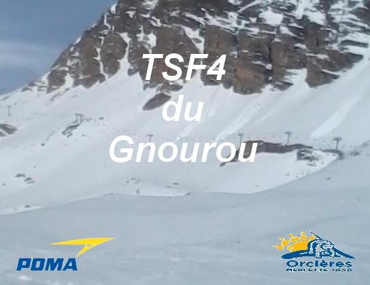 Télésiège fixe 4 places du Gnourou B17