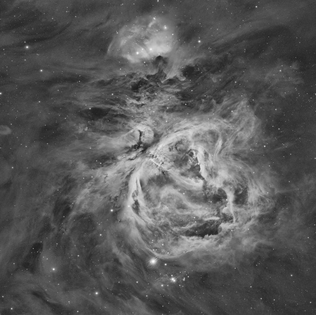M42 Nébuleuse d'Orion en Ha M42_ha12