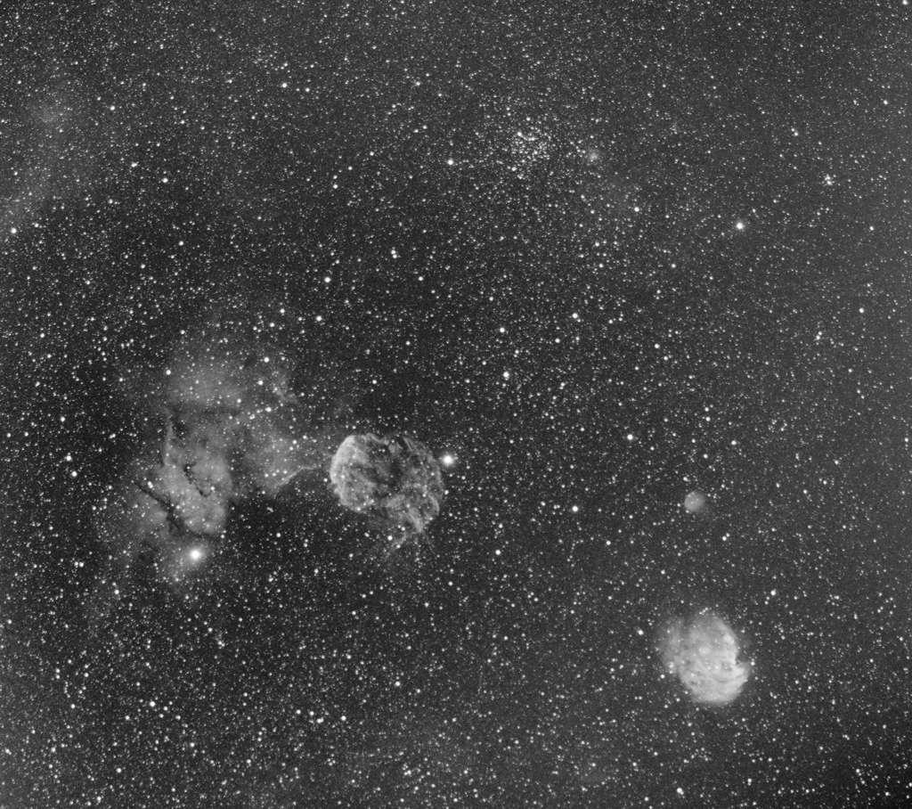 Grand champ autour de la méduse : IC443 M35 et NGC2174 Meduse10