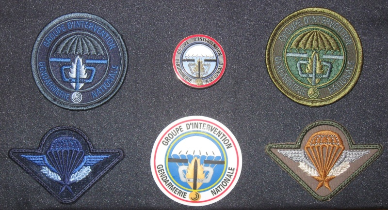 Patches et insigne GIGN Gign10