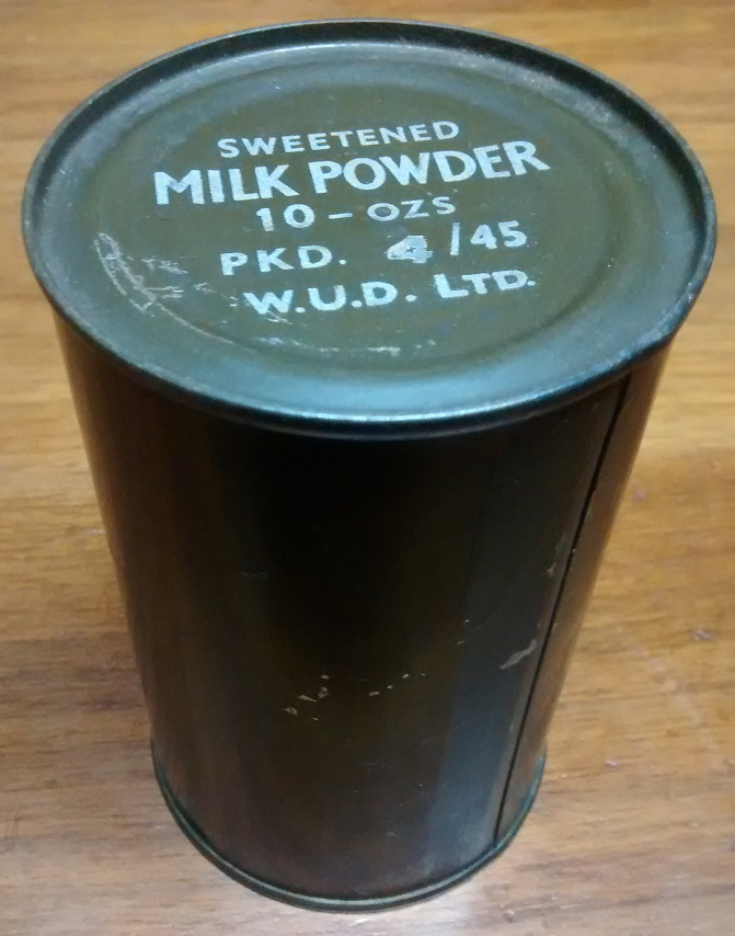 Ration Tin Milk110