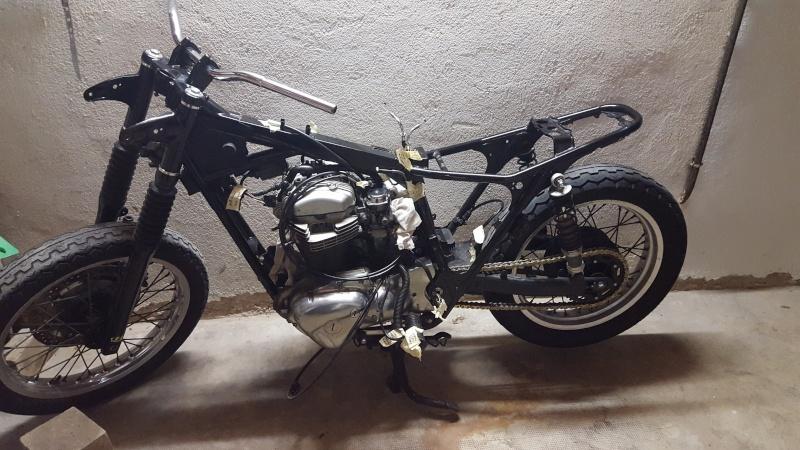Transformation Kawasaki w650   20151211