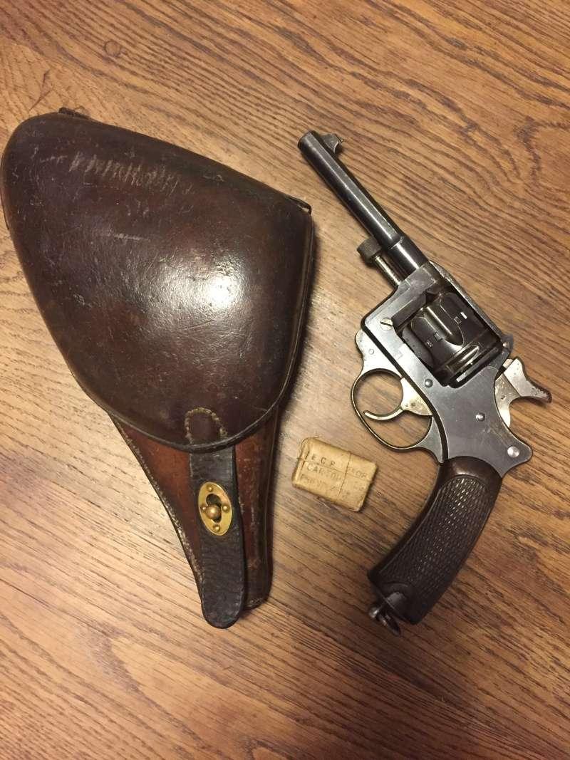 Revolver Saint-Etienne modèle 1892 série H année 1915 01813