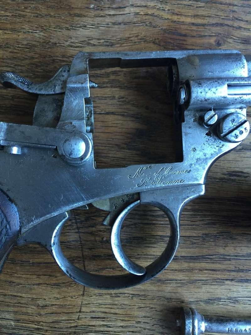 Revolver modèle 1873 et son étui jambon 06510