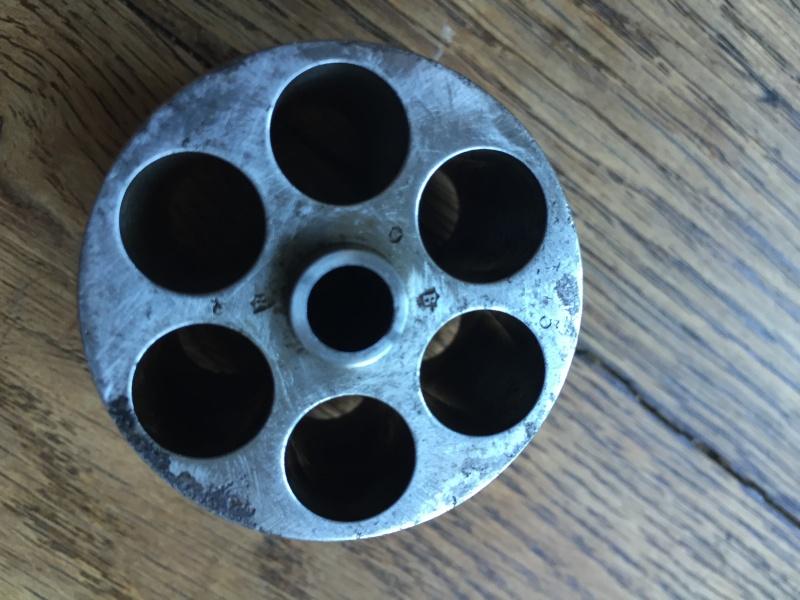 Revolver modèle 1873 et son étui jambon 07110