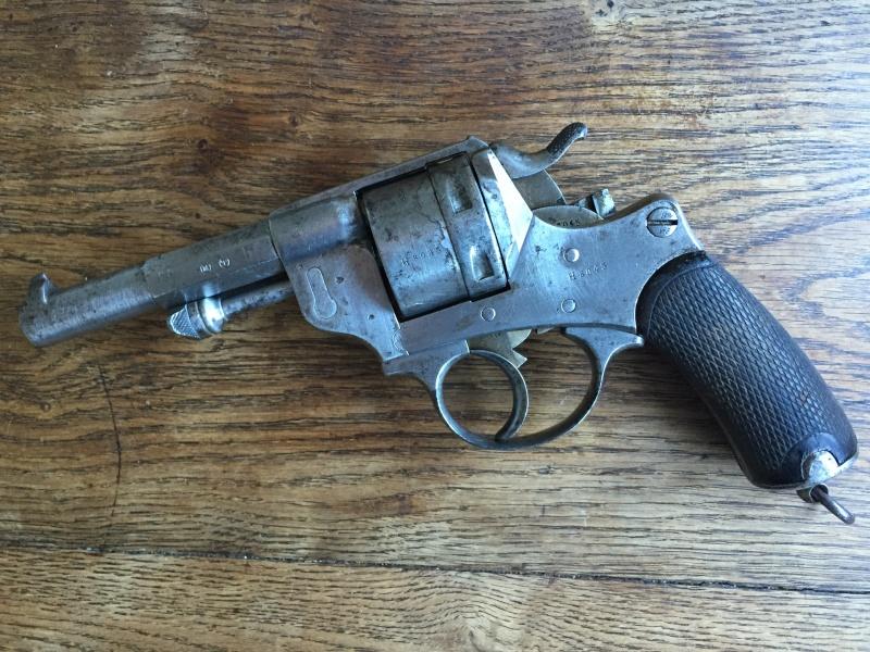 Revolver modèle 1873 et son étui jambon 07610