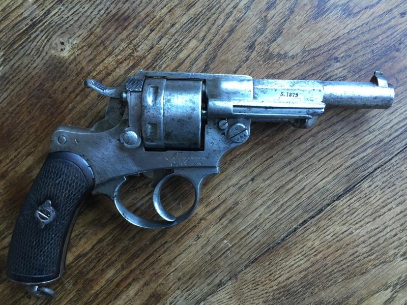 Revolver modèle 1873 et son étui jambon 07810
