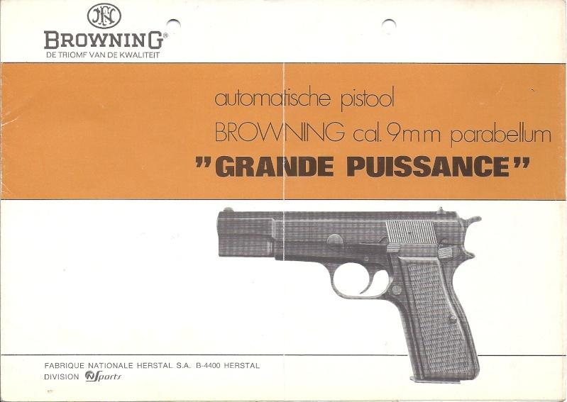 Manuel technique du FN browning GP 35 - différents types Numyri24
