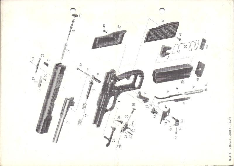 Manuel technique du FN browning GP 35 - différents types Numyri30