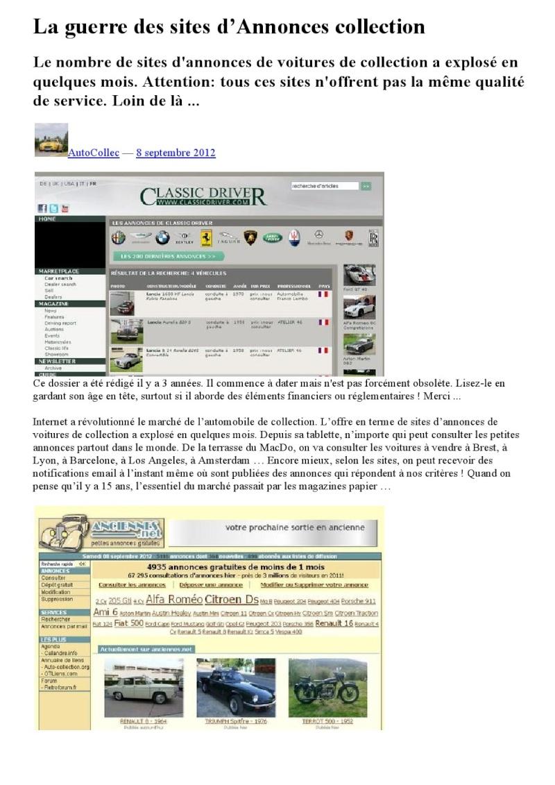 LA GUERRE DES SITES D ANNONCES DE COLLECTION 000120