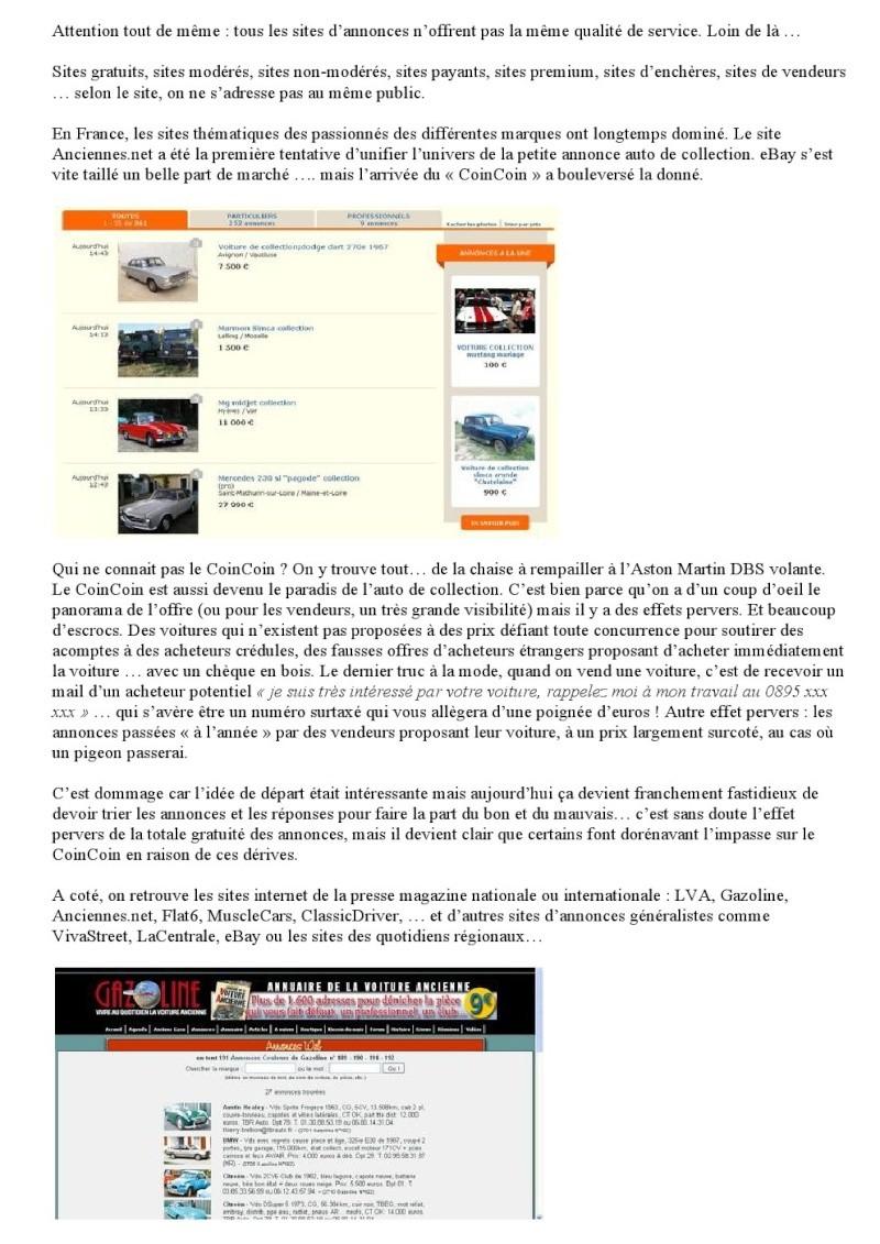 LA GUERRE DES SITES D ANNONCES DE COLLECTION 000219