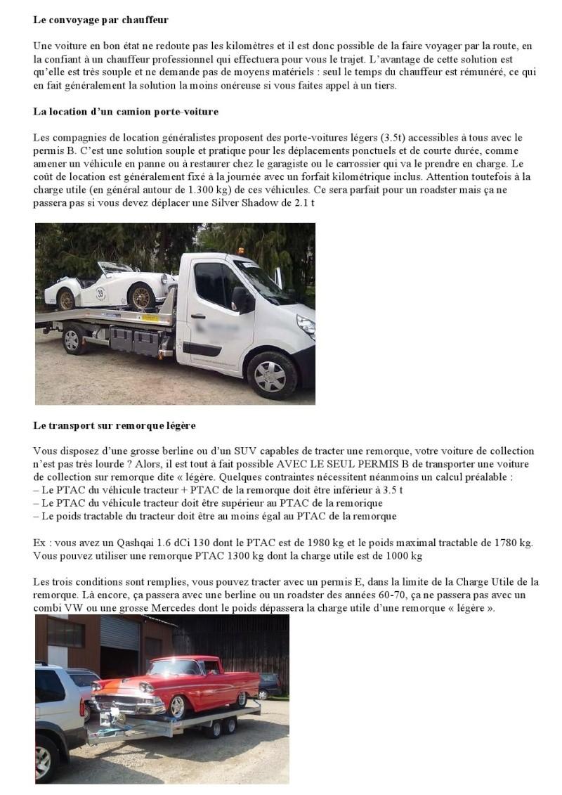 TRANSPORTET SA VOITURE DE COLLECTION 000221