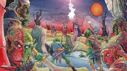 Dungeon world, l'Ad&D du XXIeme siecle ? Dungeo10