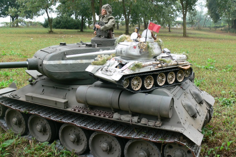 T34/85 Full-Metal con elettronica Taigen P1110312