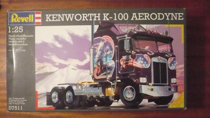Kenworth K-100 Aerodyne Revell 1/25e P1100315