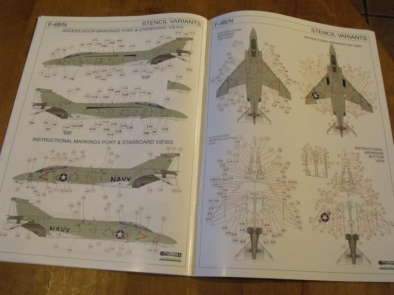 F-4 B Phantom 1/48° - VF-51 - 1972 - Début de patine. Dscf6356
