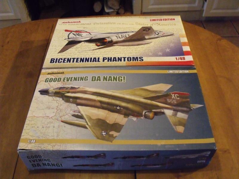 F-4 B Phantom 1/48° - VF-51 - 1972 - Début de patine. Dscf6364
