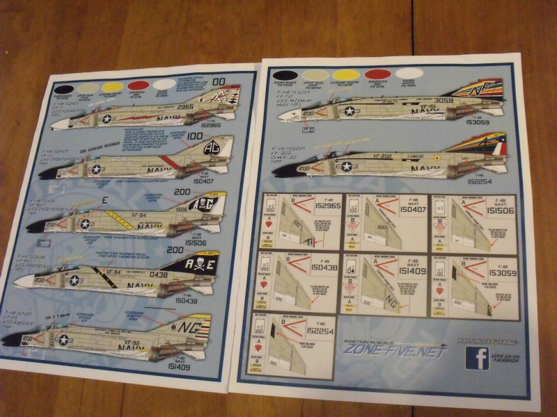 F-4 B Phantom 1/48° - VF-51 - 1972 - Début de patine. Dscf6415