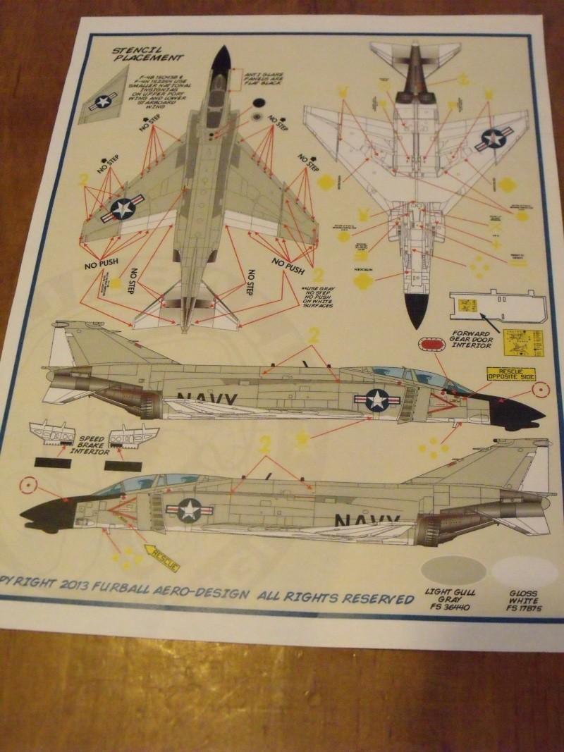 F-4 B Phantom 1/48° - VF-51 - 1972 - Début de patine. Dscf6420