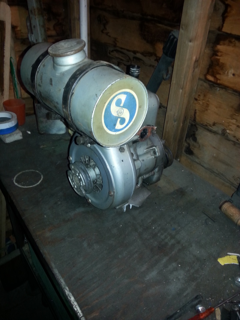 Oops I did it again! bought a Sachs Stamo 50 engine. Update 31-01 new pics  20160122
