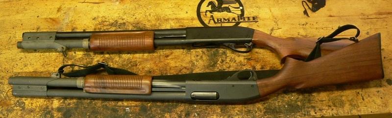 Remington 870 au Vietnam.  P1480610
