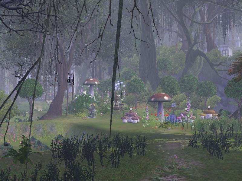 L'île de l'oeil bleue de Nousch - Page 2 Jardin10