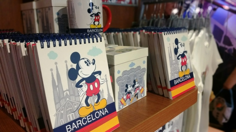 [Boutique Disney Store] Barcelone 20151010